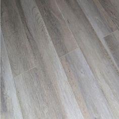 Laminate Flooring Dekorman Light Ash Oak 12 mm Thick x in. Wide x 48 Waterproof Laminate Flooring, Rubber Flooring, Wood Laminate, Vinyl Flooring, Bedroom Flooring, Basement Flooring Options, Kitchen Flooring, Flooring Ideas, Basement Plans