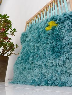 tapestry & plant, Sara Pierazzuoli
