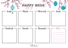 Check out my April printable calendar and its organization kit includes: weekly, the to-do list, the mood tracker and tracker activity! Blog Planner Printable, To Do Lists Printable, Weekly Planner Template, Templates Printable Free, Printables, Calendar Printable, Planner Ideas, Organization Bullet Journal, Planner Organization