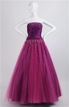 Tulle ball gown #prom #dress