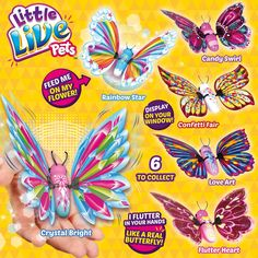 Little Live Pets Butterfly Starter Pack   Top Toys For Kids