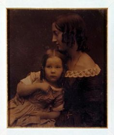 Southworth & Hawes  Unidentified Mother & Child ca. 1850