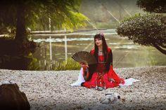 Japan Herbst Cosplay
