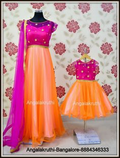 Mom and Me designs in Bangalore by Angalakruthi--