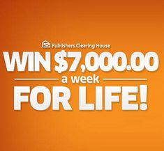 PCH 10 Million Dollars Sweepstakes Instant Win Sweepstakes, Online Sweepstakes, Microsoft, 10 Million Dollars, Win For Life, Winner Announcement, Publisher Clearing House, Winning Numbers, Cash Prize