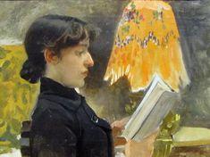 Perfil de Clotilde, 1884 -  Joaquin Sorolla y Bastida (Spanish, 1863-1923)