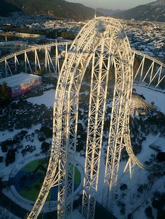Highest and fastest roller coaster! Japan is so creative. @Jessamyn Block
