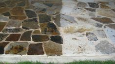 The Natural Stone On Left Is Treated With An Enhancer Lied By Boys From Blackhorn Sealers In Houston Tx