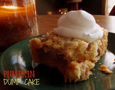 Pumpkin Dump Cake on MyRecipeMagic.com
