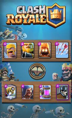 Clash Royale deck zappy Géant royal  Clash Royale http://ift.tt/1STR6PC