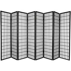 Black Room Divider - The Home Depot Oriental Furniture 6 ft. Natural Room Divider – The Home Depot 4 Panel Room Divider, Bamboo Room Divider, Room Divider Walls, Divider Cabinet, Wooden Room Dividers, Portable Room Dividers, Folding Room Dividers, Asian Furniture, Oriental Furniture