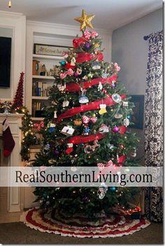 Real Southern Living Christmas Tree 2012