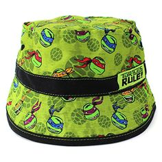 TMNT Ninja Turtles Toddler Boys Green Bucket Hat Nickelodeon http://www.amazon.com/dp/B00SC2Y9O6/ref=cm_sw_r_pi_dp_qHJ-ub0DCB1ET