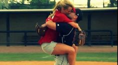 Every Softball players fantasy  #wanted #lovers #jealous #cute_couple