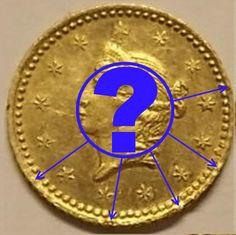 США 1 доллар золото 1853 реальный или поддельный?