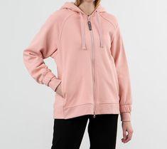 adidas x Stella McCartney Essential Hoodie Pink Spirit Stella Mccartney, Hooded Jacket, Essentials, Adidas, Hoodies, Pink, Jackets, Spirit, Products