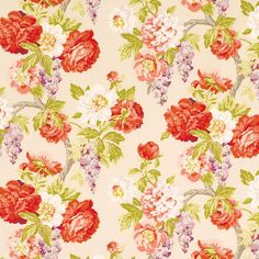 Pattern #42343 - 761 | Cressbrook Print Collection | Duralee Fabric by Duralee