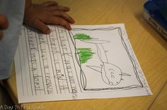 kindergarten students reflect on what they learned about ocean animals