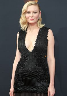 2c80bc77ede78 Kirsten Dunst in a Givenchy Couture gown for the 68th Annual Primetime Emmy  Awards on September