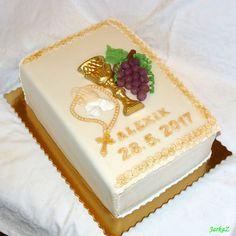 Cake for First Holy Communion for girl - k prvému sv. prijímaniu