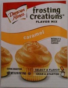 Amazon.com : Duncan Hines Frosting Creations Flavor Mix Caramel : Dessert Icings : Grocery & Gourmet Food