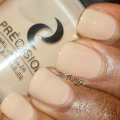 """""""This would be nice as a base for nail art or base for a french manicure when worn in 1 coat."""""""