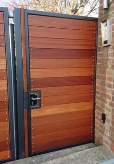 Hardwood gates in West Sussex