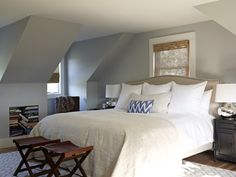 Painting a Cape Cod style bedroom- all those angles