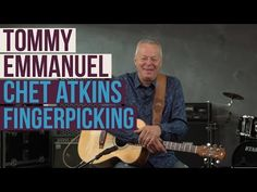 Acoustic Nation Lesson: Tommy Emmanuel Teaches His Picking Technique - YouTube