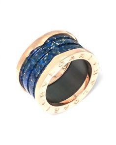 Bvlgari  18K Rose Gold B.Zero 1 Ring AN856222 MSRP $1,590  | eBay