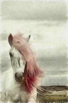 Horse Painting - I love soft painting of horses and im still on the look for one for my home!