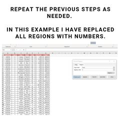 How to find & replace in Excel - The Organised Hustler