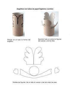 Documento Angelitos con tubos de papel higiénico - grupos.emagister.com
