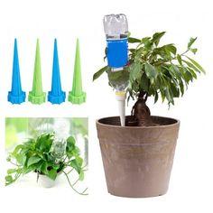4 kusy pomůcka na automatické zalévání pokojových květin