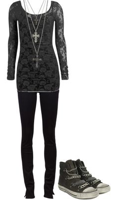 """""""Untitled #558"""" by bvb3666 ❤ liked on Polyvore - I wish I had cute outfits like this ;-;"""
