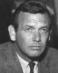 """David Janssen (1931 - 1980) Starred in the TV series """"The Fugitive"""" and """"Harry O"""""""