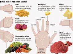 ¿Conoces tus raciones ideales? - La dieta ALEA - blog de nutrición y dietética, trucos para adelgazar, recetas para adelgazar