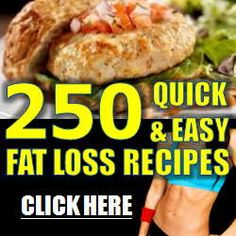 250 Quick and Easy Fat Loss Recipes that use Simple Fat Burning Foods that Burn Fat Faster! Fat Burning Soup, Fat Burning Foods, Burning Man, Weight Loss Smoothie Recipes, Healthy Weight Loss, Healthy Cooking, Healthy Recipes, Easy Recipes, Dinner Recipes