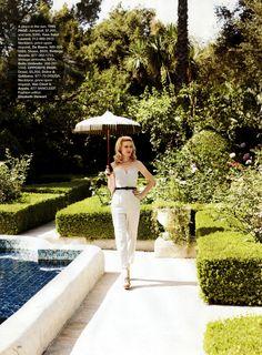 Kirsten Dunst photographed by Alexi Lubomirski for Harper's Bazaar US October 2008