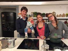 Quando mamma non c'è su Gambero Rosso Channel. In cucina Ettore Bassi e le sue figlie  #bompani