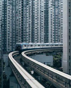 Cityscape Photography, Urban Photography, Landscape Photography, Urban Architecture, Futuristic Architecture, Chongqing China, City Aesthetic, Urban Life, Built Environment