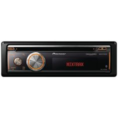 PIONEER DEH-X8700BS Single-DIN In-Dash CD Receiver with Full Dot LCD Display, Bluetooth®, Siri® Eyes Free, USB, Android™ Music Support & Pandora® Internet Radio (SiriusXM® Ready)