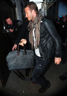 cant beat the magic 4. jeans, tee, leather jacket and scarf. no matter how you mix the colors up