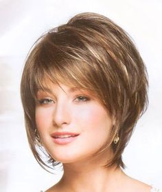 Popular short layered bob hairstyles for fine hair Gallery