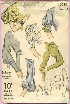 Sleeve patterns, collars, dickies, hats etc. If you are just starting your vintage pattern collection, you might ask yourself, is it worth i...