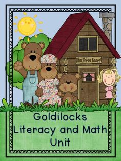 Goldilocks Literacy and Math Unit from Kindergarten Lifestyle on TeachersNotebook.com (108 pages)