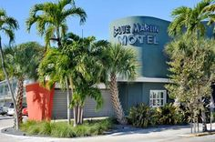 Blue Marlin Motel Key West (Florida) This motel is just a 4-minute walk from the southernmost point of the continental US and the Key West Butterfly & Nature Conservatory.  It offers a daily continental breakfast, an outdoor pool and free Wi-Fi.