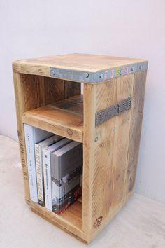 ANGSTROM  Reclaimed Wood Side Table  Handmade & Bespoke