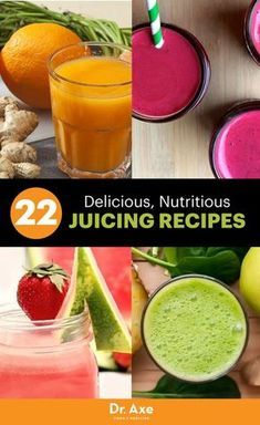 22 Healthy, Homemade and Delicious Juicing Recipes