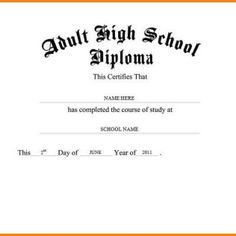 Looking for free Printable High School Diploma Template? ✅ These diploma templates are free to use & can be edited online. Free High School Diploma, High Diploma, College Diploma, Online College Degrees, Importance Of Time Management, Going Back To School, Reading Material, School Organization, Graduate School